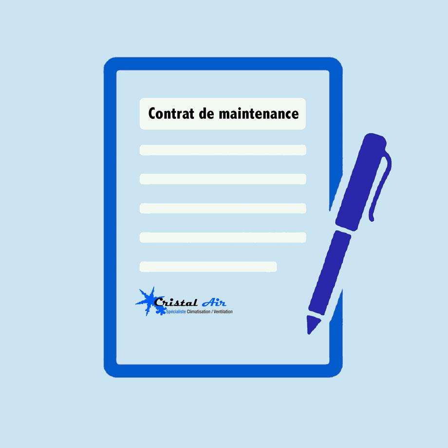 contrat de maintenance