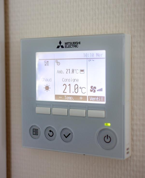 Boitier de climatisation Mitsubishi Electric