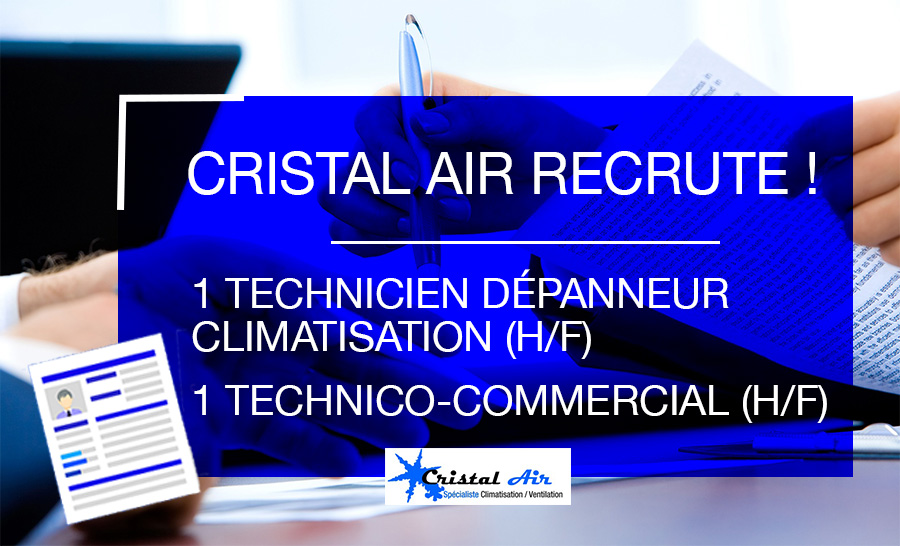 CRISTAL AIR recrute !