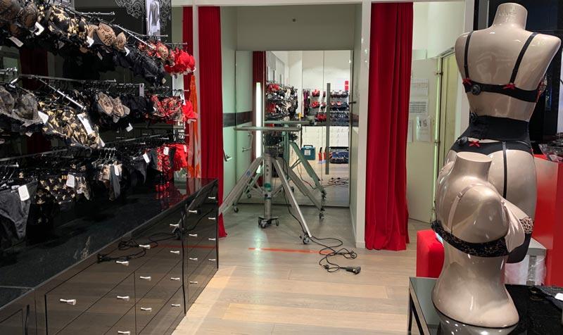 Remplacement de climatisation Boutique Aubade - Val d'Europe (77)