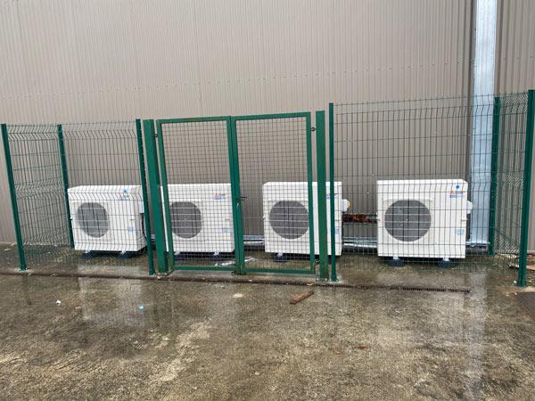 Installation de climatisation Joué Club les Herbiers 85